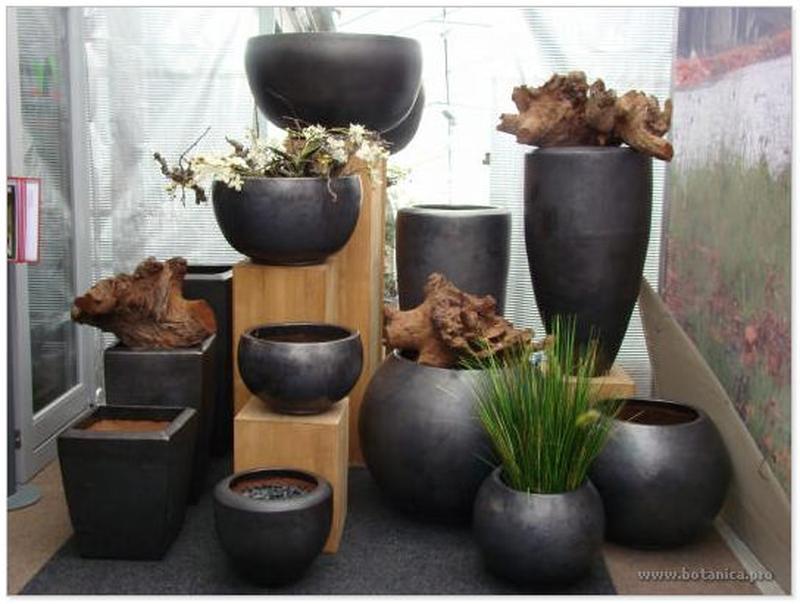 Горшок керамика для цветов